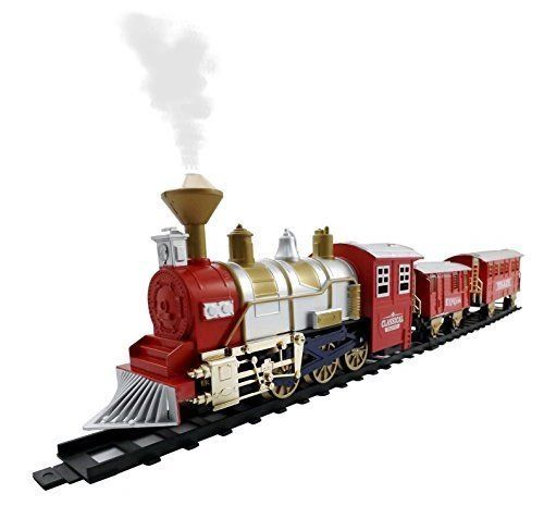 Train With Track light music battery operated train toy