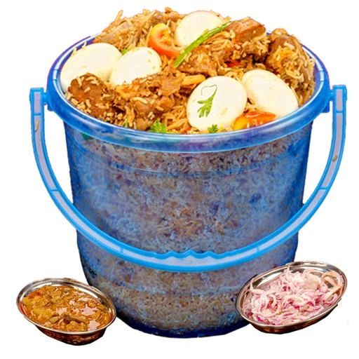 1 Bucket Chechen Biryani Party Pack 5kg (Chennai)
