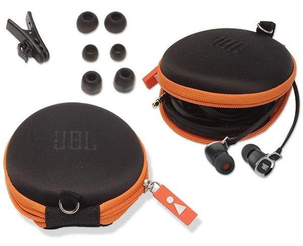 JBL EARPHONE POUCH BLACK