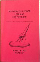 Professor B Power Learning Workbook 3 Answer Key