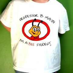 Professor B Math - I'm a Bee Student - T-Shirt size 14-16
