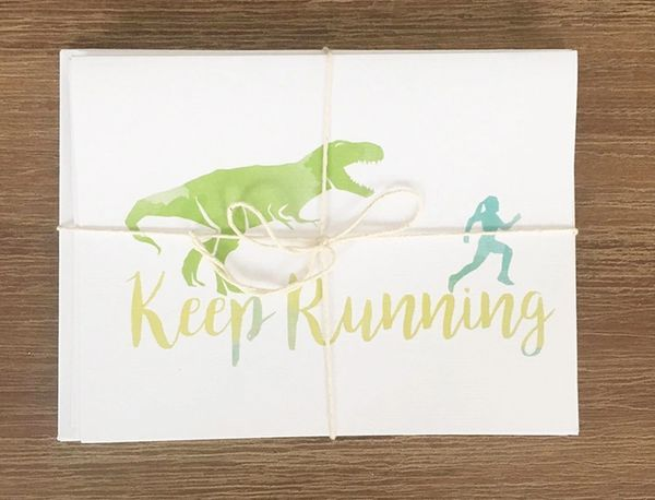 Hello and high five greeting card shop fitness greeting cards running greeting cards bundle m4hsunfo