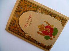 Indian Wedding Program Booklet Ganesha Jaipur Arch