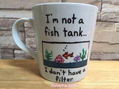 Not a Fish Tank Coffee Mug
