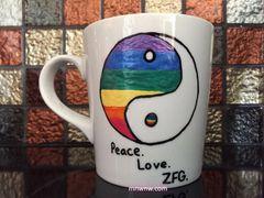 Peace. Love. ZFG. Coffee Mug