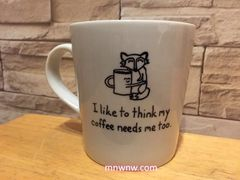 My Coffee Needs Me Too Coffee Mug