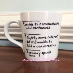 Unable to Communicate/You May Speak Now Coffee Mug