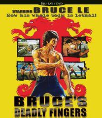 Bruce's Deadly Fingers Blu-Ray/DVD