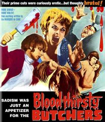 Bloodthirsty Butchers Blu-Ray