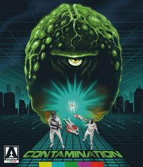 Contamination Blu-Ray/DVD