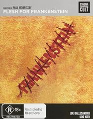 Flesh For Frankenstein Blu-Ray (Region Free)