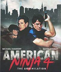 American Ninja 4: The Annihilation Blu-Ray