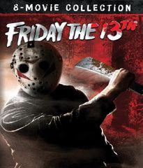 Friday The 13th 8-Movie Collection Blu-Ray