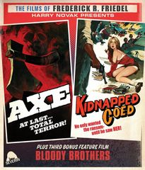 Axe / Kidnapped Coed Blu-Ray