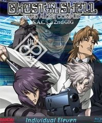 Ghost In The Shell: Stand Alone Complex: Individual Eleven Blu-Ray