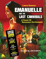 Emanuelle And The Last Cannibals (Limited Edition Slipcover) Blu-Ray