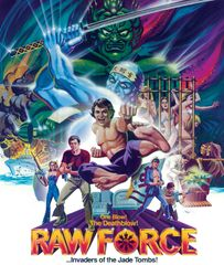 Raw Force Blu-Ray/DVD