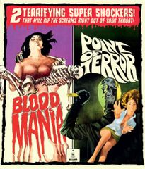 Blood Mania / Point Of Terror Blu-Ray/DVD (Limited Edition)