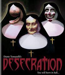 Desecration Blu-Ray