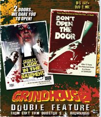 Don't Look In The Basement / Don't Open The Door Blu-Ray/DVD
