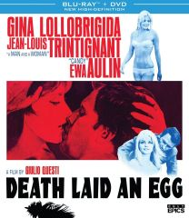 Death Laid An Egg Blu-Ray/DVD