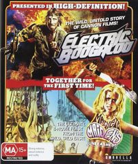 Electric Boogaloo / Machete Maidens Unleashed Blu-Ray (REGION FREE)