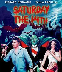 Saturday The 14th Blu-Ray