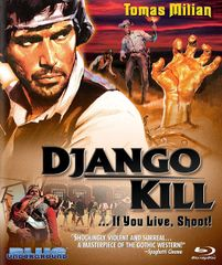 Django Kill... If You Live, Shoot Blu-Ray