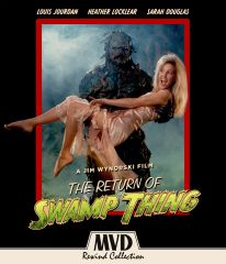 Return Of Swamp Thing Blu-Ray/DVD