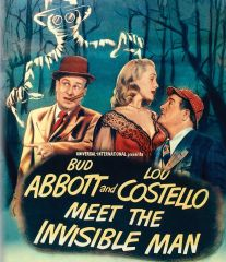Abbott And Costello Meet The Invisible Man Blu-Ray