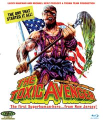 Toxic Avenger Blu-Ray