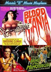 Blood Mania / Land Of The Minotaur DVD