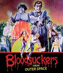 Bloodsuckers From Outer Space Blu-Ray/DVD