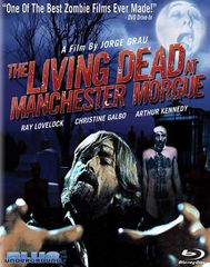 Living Dead At Manchester Morgue Blu-Ray