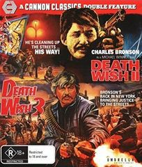 Death Wish 2 / Death Wish 3 Blu-Ray (Region Free)