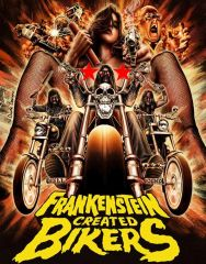 Frankenstein Created Bikers Blu-Ray