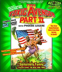 Toxic Avenger Part II Blu-Ray/DVD