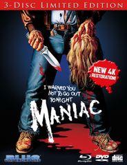Maniac (3-Disc Limited Edition) Blu-Ray/CD