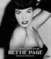 Exotic Dances Of Bettie Page Blu-Ray