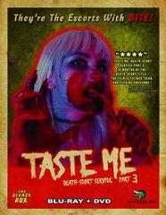 Death-Scort Service 3: Taste Me Blu-Ray/DVD