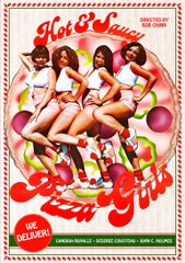 Hot And Saucy Pizza Girls DVD