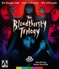 Bloodthirsty Trilogy Blu-Ray