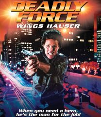 Deadly Force Blu-Ray