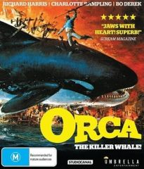 Orca: The Killer Whale Blu-Ray (Region Free)