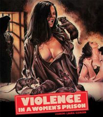 Violence In A Women's Prison Blu-Ray