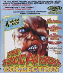 Toxic Avenger Collection Blu-Ray