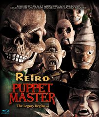 Retro Puppet Master Blu-Ray