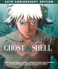 Ghost In The Shell (25th Anniversary Edition) Blu-Ray