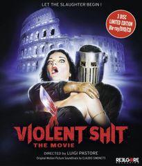 Violent Shit: The Movie Blu-Ray/DVD/CD