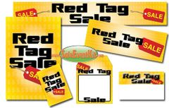 Red Tag Sale Event Kit - $150-$899